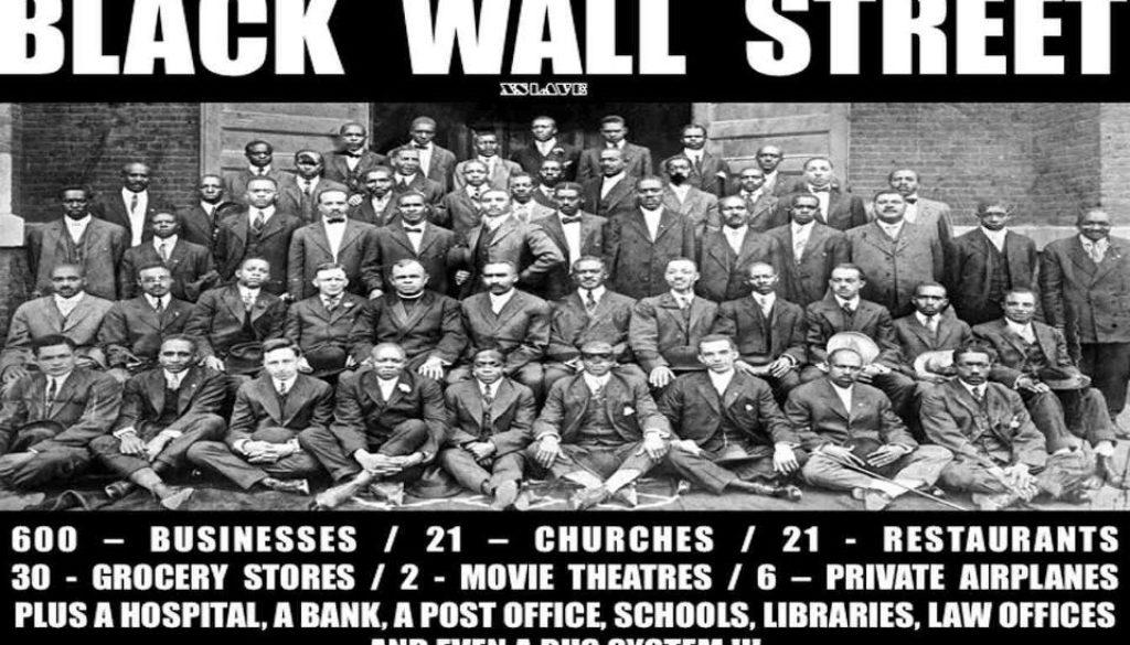Beautiful NEVER FORGET Black Wall Street! 3000 Blacks Massacred In Oklahoma
