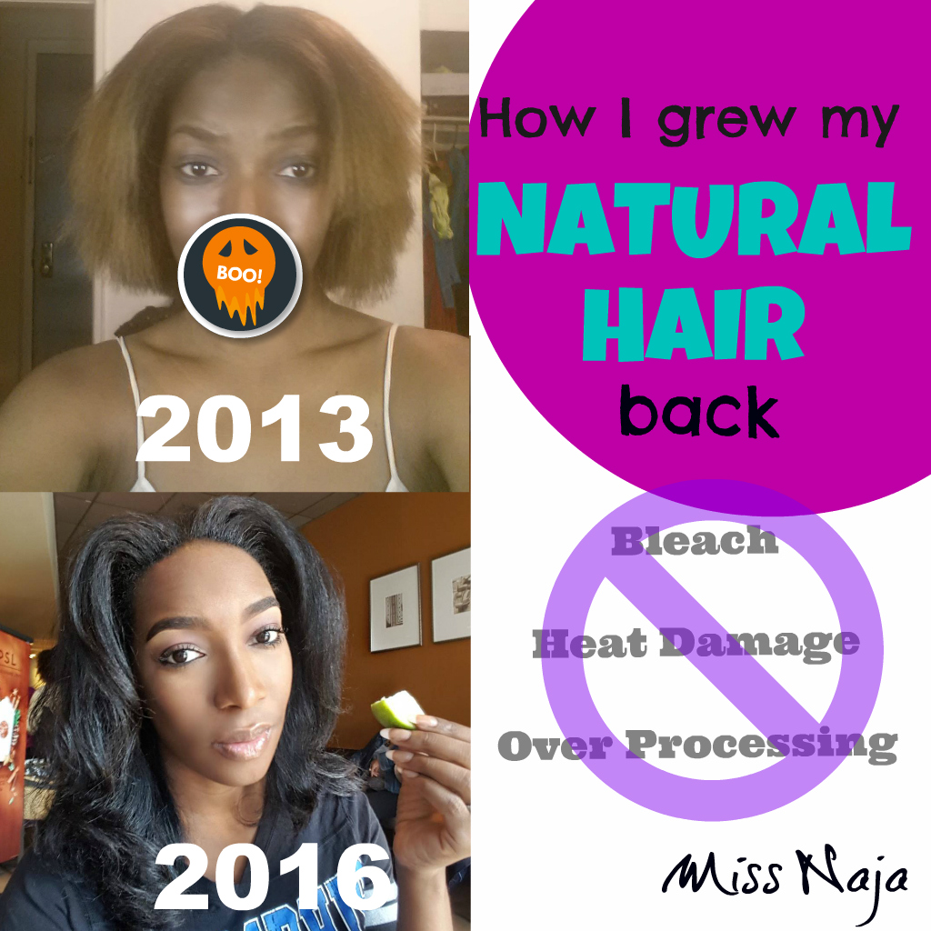 How I grew my NATURAL HAIR back!